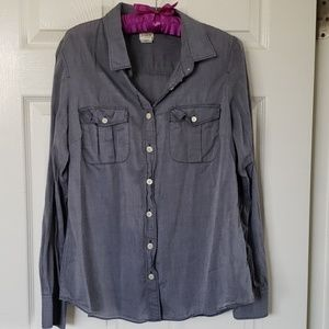 J Crew  long sleeve blouse